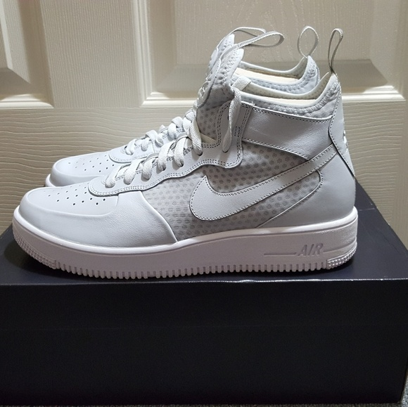 Nike Air Force 1 Ultraforce (Pure Platinum Pure Platinum White)